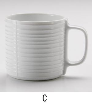 白磁マグC