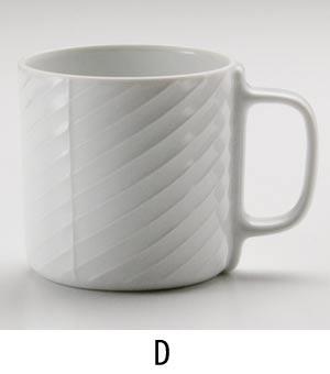白磁マグD