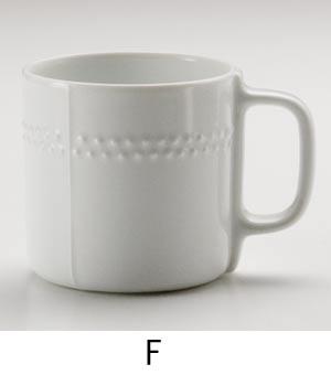 白磁マグF